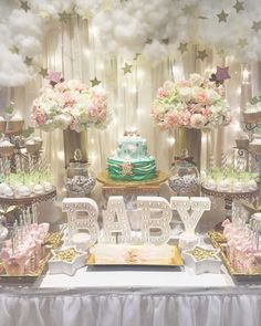 Baby Shower Ideas For A Girl Pinterest 133 best star baby showers images on pinterest in 2018 | safari baby