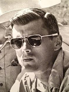 cfe206aa5 Roger Chaffee during geological training Cimarron, New Mexico, June.  American Optical · AO Eyewear Original Pilot Glasses