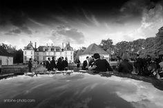 Wedding photographer, Chateau Bourron Marlotte