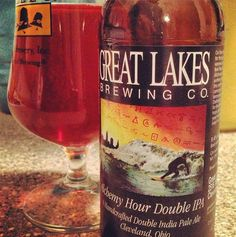 """Great Lakes Brewing Company Alchemy Hour DIPA--From another pinner: """"Holy honey grapefruit! Poured an Alchemy Hour DIPA for the Final Four game... does Great Lakes even know how to make a bad beer? Haven't had one yet..."""""""