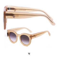 VALLEY ' ADEADCOFFINCLUB ' frame in peach