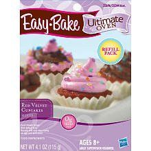 Easy bake oven 2015 amazon top rated real food appliances toy playskool easy bake ultimate oven refill red velvet cupcake ready set bake forumfinder Images
