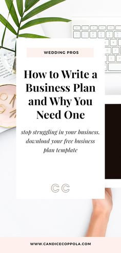Writing a business plan will reveal A LOT about your business. Learn how to write your wedding business plan + a free business plan template. Business Plan Outline, Free Business Plan, Writing A Business Plan, Business Advice, Business Plan Template Free, Startup Business Plan, Business Plan Example, Business Coaching, Business Goals