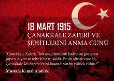 18 MART 1915 ÇANAKKALE ZAFERİ VE ŞEHİTLERİNİ ANMA GÜNÜ