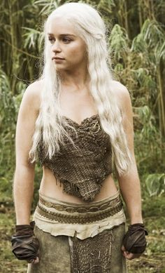 Emilia Clarke in The Game of Thrones love her part