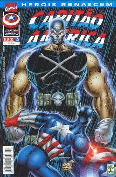 Cover for Heróis Renascem: Capitão América (Editora Abril, 1998 series) #3