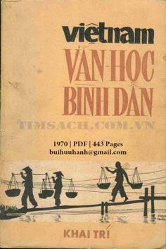 Việt Nam Văn Học Bình Dân (NXB Khai Trí 1970) - Nguyễn Trúc Phượng, 443 Trang   Sách Việt Nam
