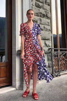 Dresses ⋆ RIXO Midi Dress With Slit, Long Sleeve Midi Dress, Floral Midi Dress, Short Sleeve Dresses, Button Down Dress, Dream Dress, Mini Skirts, Street Style, Headgear
