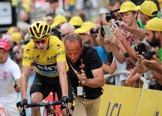 Tour de France 2015. Pra-Loup (04). Chris Froome plie mais ne rompt pas ! © Photo Pat.Domeyne/Juillet 2015