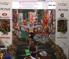 How Aled Smith took 50 mins off his Ironman run time