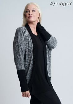 7cf884987411 Sometimes you just need a black and white jacket to help you look fabulous   plussize