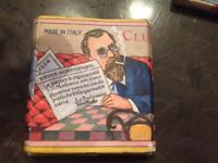 Vintage Rare Club Square S.D. Modiano Cigarette Papers - NO UPC - Made in Italy