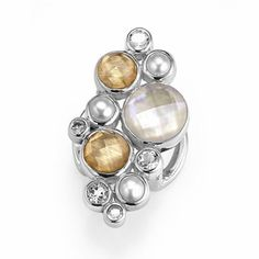 Lori Bonn Slide Charm Limited Edition (Champagne Wishes) - Gemstone Bonn Bons