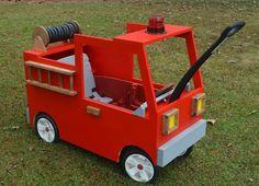 Radio Flyer Fire Truck | Little White House Blog