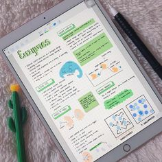 notes on ipad app ; School Organization Notes, Study Organization, Nursing School Notes, College Notes, Pretty Notes, Good Notes, Binder School, School Study Tips, Study Notes