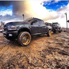 She's pretty but still putting in work! Lowered Trucks, Ram Trucks, Dodge Trucks, Diesel Trucks, Lifted Trucks, Cummins Diesel, Dodge Ram Lifted, Dodge Ram Pickup, Dodge 2500