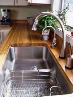 Pecan - Custom Wood Countertops, Butcher Block Countertops, Kitchen Island Counter Tops