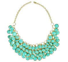 Elegant-Circles-Necklace ~Greysell Giselle~Pinterest ❤ Youtube: Highest Harmony. Blog: Joi De Vie