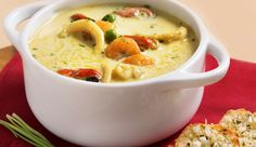 Sopa de Frutos do Mar e Curry