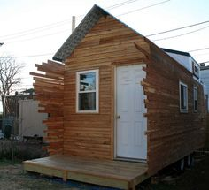 love the siding porch screen. Tiny Houses on Display in D.C. | Slide show | GreenSource