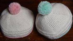uncinettofra: Cappellino per neonato all'uncinetto