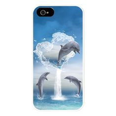 The Heart Of The Dolphins iPhone 5 Case $24.50