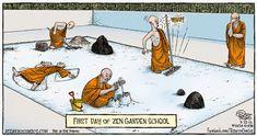 Wisdom Quarterly: American Buddhist Journal: How to solve Zen koans (cartoon)
