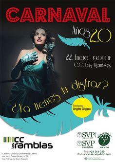 Ven a disfrutar, Pasarela y actuaciones  más información en www.cc-lasramblas.com