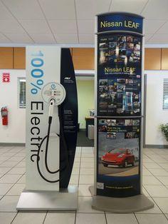 Nissan Leaf Charging Station- Bill Gatton Nissan Bristol TN #EV #NissanLEAF