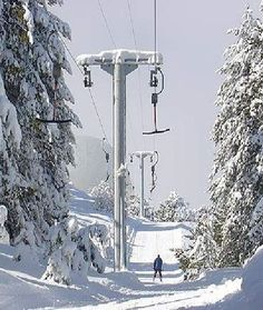Troodos Mountain Ski Resort, Cyprus