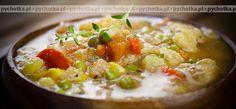 Zawiesista zupa jarzynowa z mieloną wołowiną
