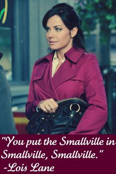 Lois must call him Smallville in DoJ. I will die from Cuteness Overload but she must do it. No sacrifice would be too great for such Adorableness ;) ;)