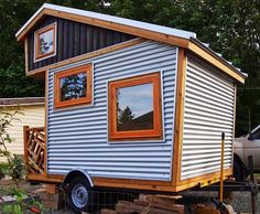 13 fascinating tiny houses on trailers images small homes tiny rh pinterest com