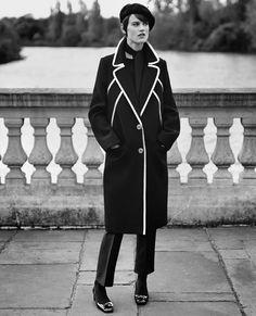 Saskia de Brauw by Alasdair McLellan for Vogue Paris