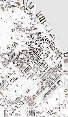 Made with Stamen Map Stack - SF buildings x Toner