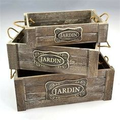 Scrap Wood Crafts, Reclaimed Wood Projects, Diy Pallet Projects, Diy Furniture Projects, Wooden Gift Boxes, Wooden Crates, Wood Boxes, Deco Retro, Altered Boxes