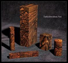 :::...TurkishWalnut.Net...::: Turkish Walnut Turning Blocks - Pieces -  Exhibition - Lux - Full Grade - AAA Fancy - AA Fancy - A Fancy - Semi  Fancy - Full Fancy - Walnut Woods - Knife Blanks - Handle blocks - Pen  Blanks - From the root burl of the Turkish Walnut Tree