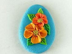 Flowers - Need to translate but fast and easy. #Polymer #Clay #Tutorial: