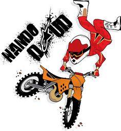 motocross cartoon - Buscar con Google