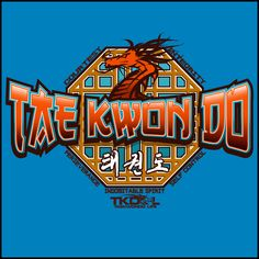 Taekwondo T-Shirt - Octagon & Dragon - MST