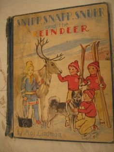 Vintage copy of  Snipp Snapp Snurr And The Reindeer
