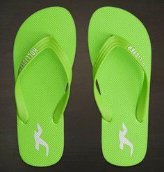 Hollister Mens/Dudes Heritage Beach Flip Flops Sandals - Vulcinity
