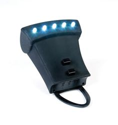 Charcoal Companion LED Grill Light with Silicone Cover - Black