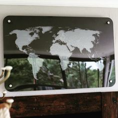Laser cut and engraved perspex world map. Three layers mounted to the wall. Laser Engraving, Laser Cutting, Maps, Layers, Create, Products, Projects To Try, Layering, Blue Prints