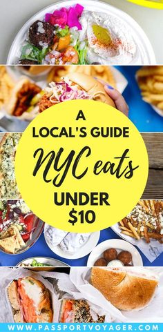 Is it possible to eat well in NYC on a budget? This insider guide to 20 of . - Is it possible to eat well in NYC on a budget? This insider guide to 20 of the best cheap plac - Usa Travel Guide, Travel Usa, Budget Travel, Travel Tips, Travel Guides, Beach Travel, Cheap Travel, Travel Hacks, Travel Packing