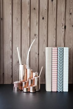 Copper Pencil Holder by Ferm Living