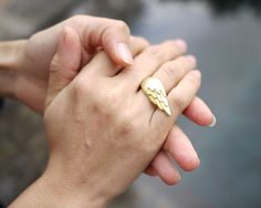 Wing Ring by Emily Rothschild - $98