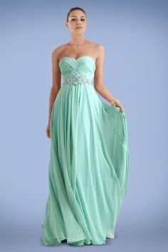 breezy-sweetheart-empire-chiffon-prom-gown-featuring-woven-pattern-and-beaded-belt