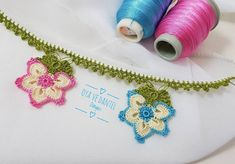 Çok Değişik Tığ İşi Oya Modelleri Crochet Necklace, Coin Purse, Jewelry, Aloe, Youtube, Instagram, Pattern, Jewlery, Jewerly