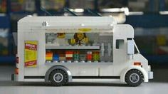 Lego does street food